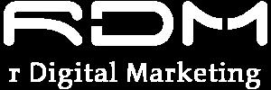 r Digital Marketing Logo white